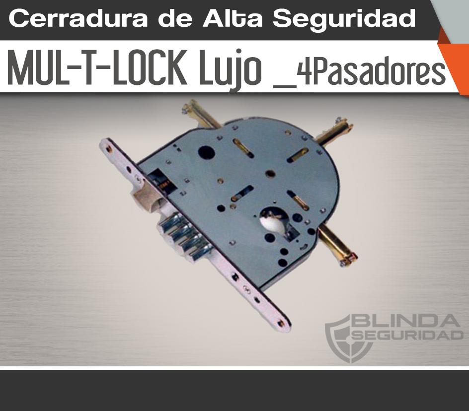 Cerradura de Alta Seguridad MULTLOCK