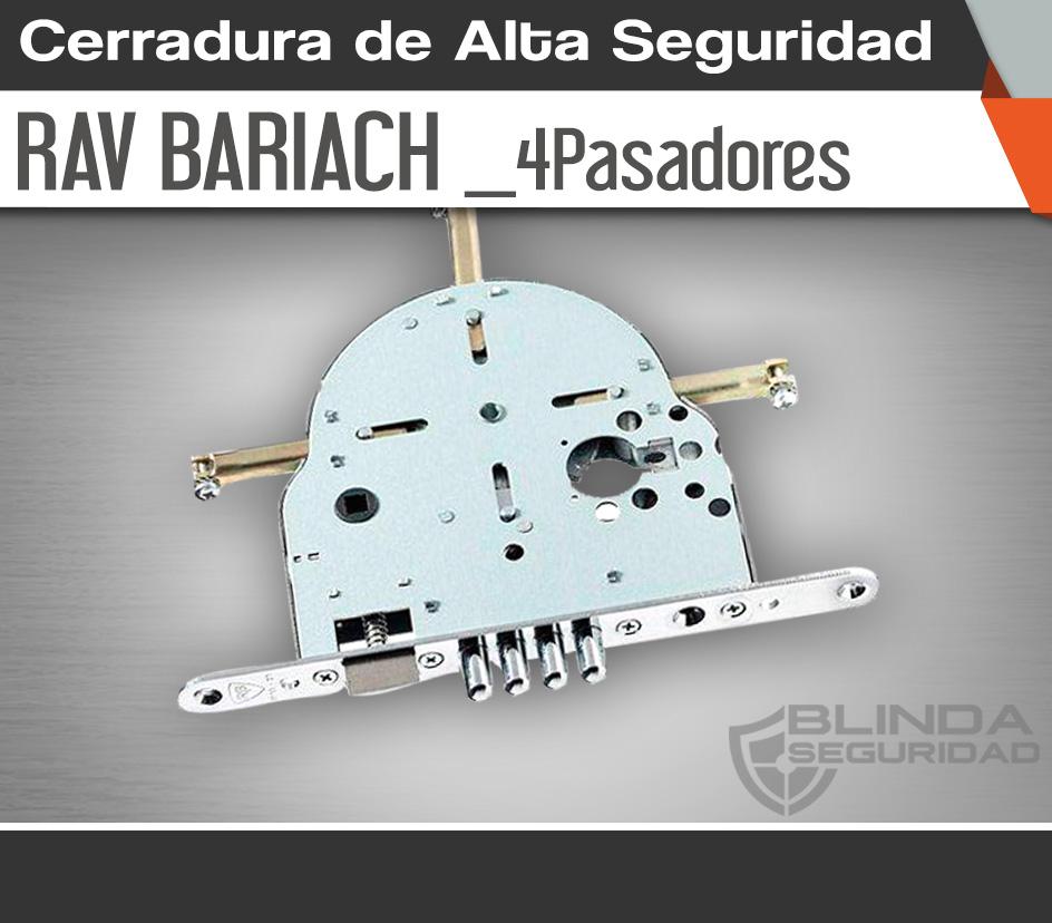 Cerradura de Alta Seguridad RavBariach