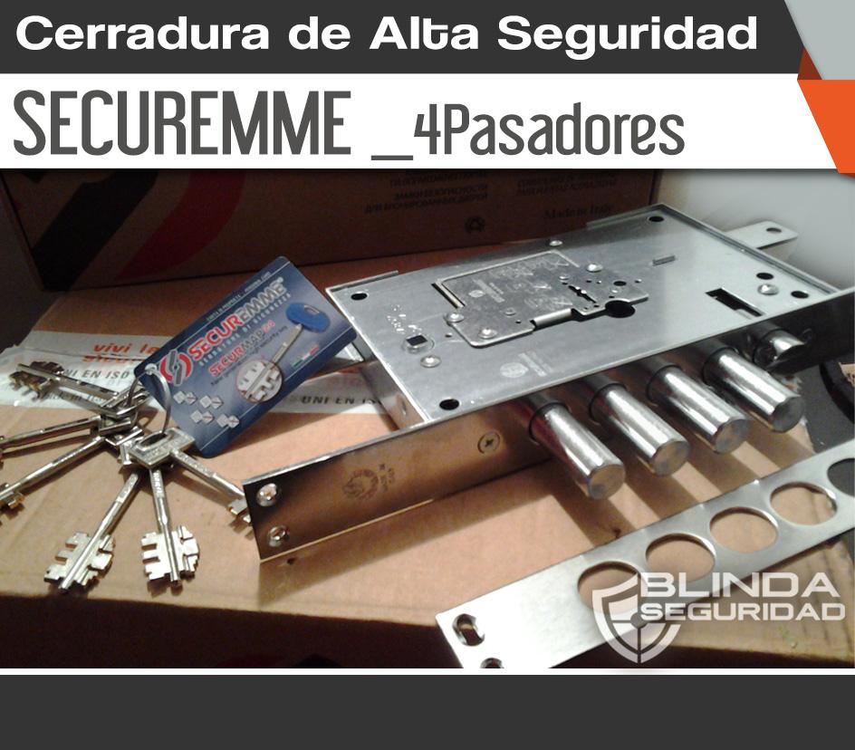 Cerradura de Alta Seguridad Securemme