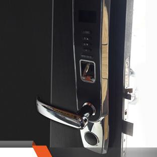 Puertas de Seguridad con Cerradura Biométrica ZKTECO