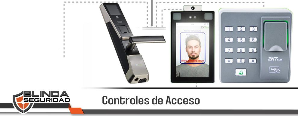Controles de Acceso Biométrico